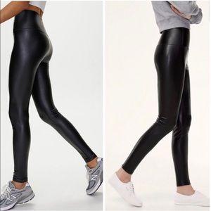 Aritzia Wilfred Free Daria Faux Leather Legging XS